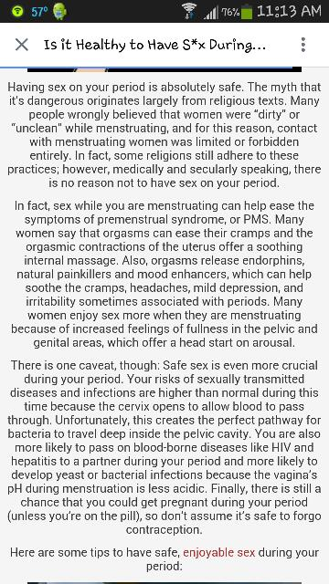 Amusing piece Is it safe to have sex during periods authoritative
