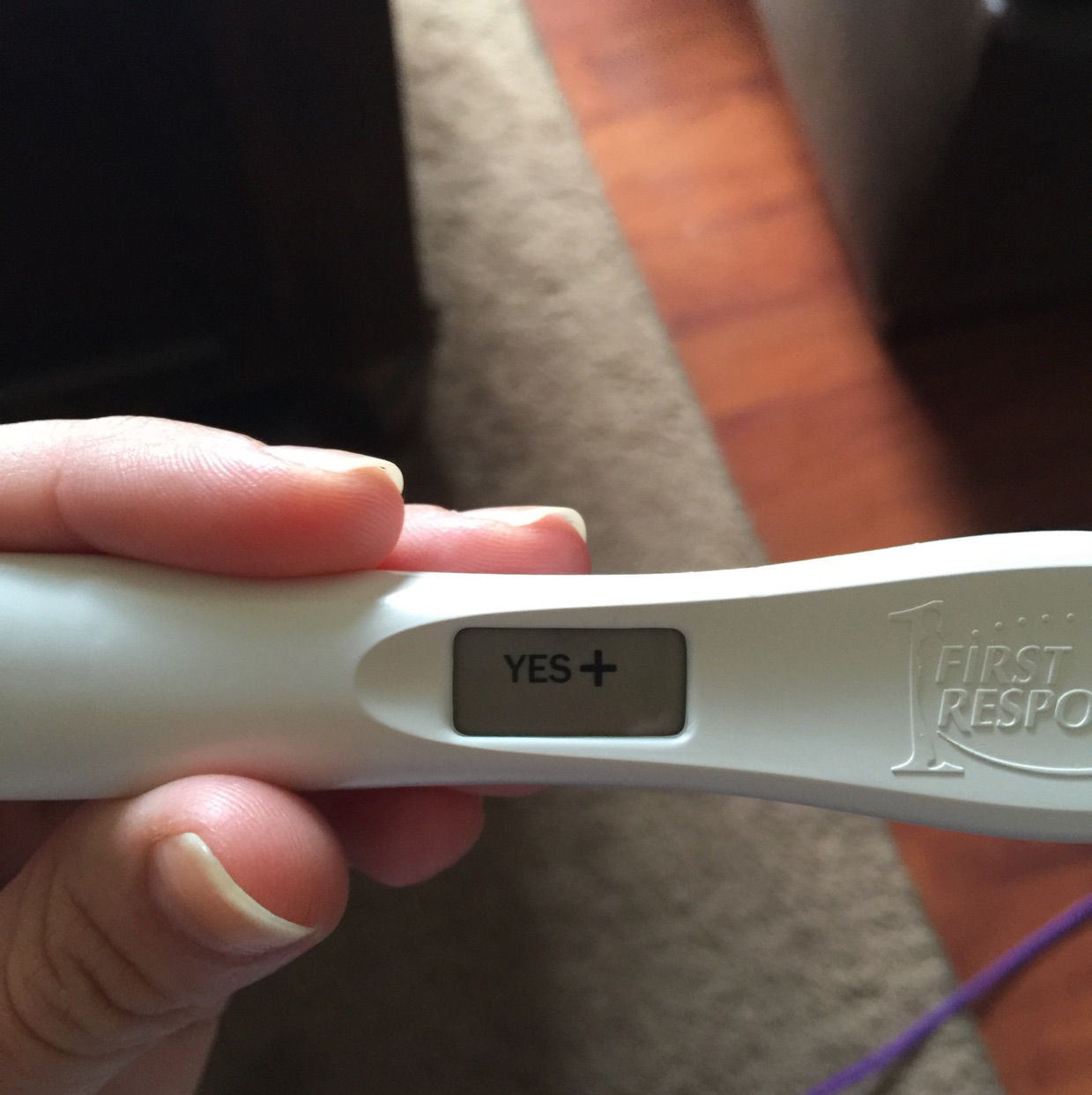 Has Anyone Ever Had A False Positive On A Frer Digital I Had A Faint Line On My Ic Hcg Test This Morning Then Took This Clear Blue Digital Isn T Picking