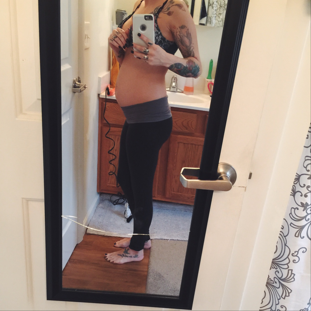 14 weeks! Starting to feel a little less bloated and a