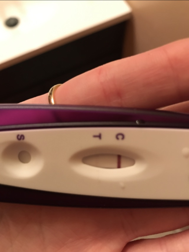 Taking a home pregnancy test and getting a faint positive line doesn't always mean you're pregnant. Sometimes, what appears to be a positive line is actually an evaporation line.