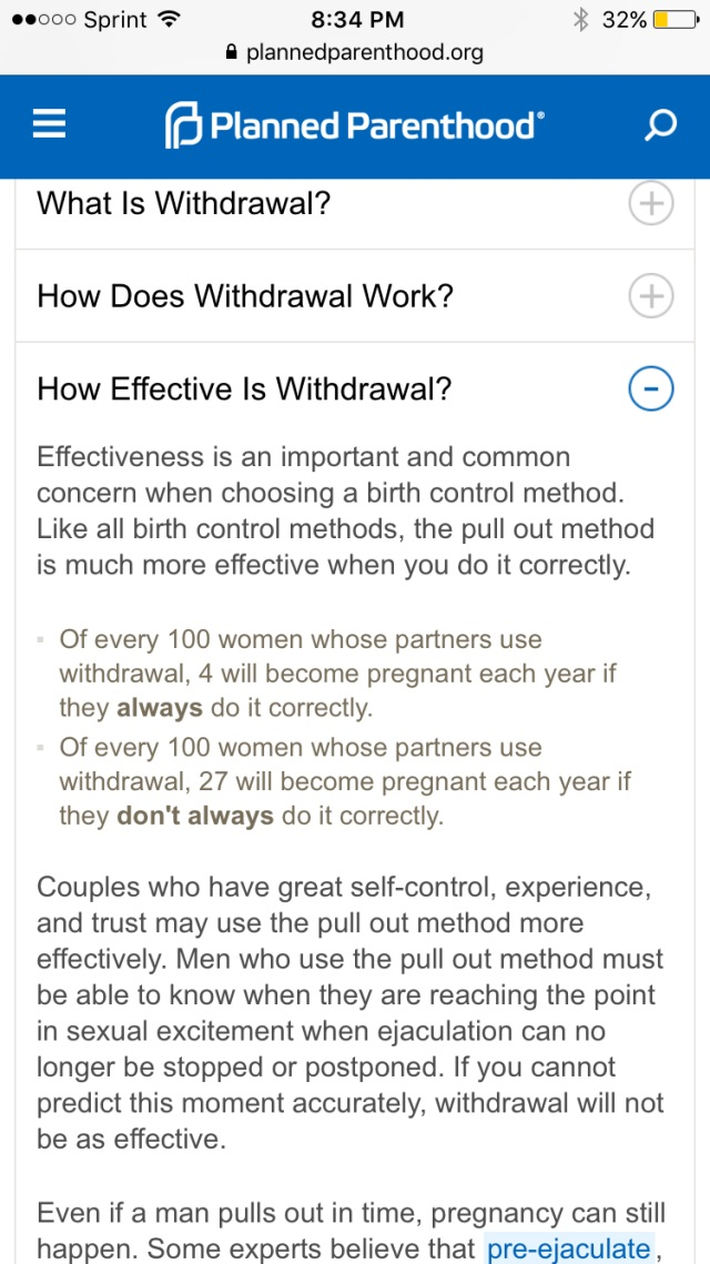 How does the withdrawal method work