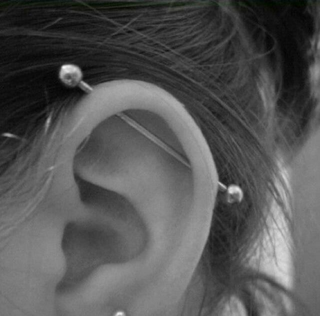 Piercing Was When I 10 And It Just My Ears Also How The Cleaning Is With Long Should Wait Till Can Change Bar