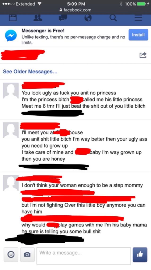 Boyfriend's baby momma harassment  - Glow Community