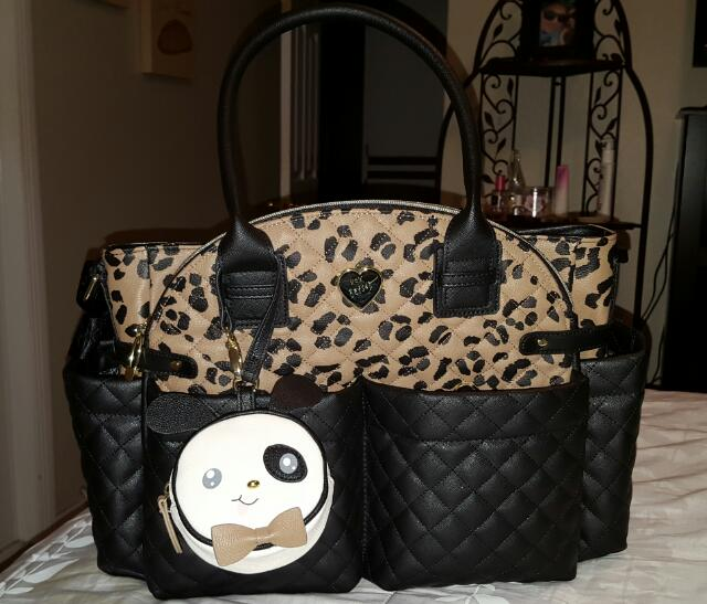 Betsey Johnson Diaper Bag Glow Community