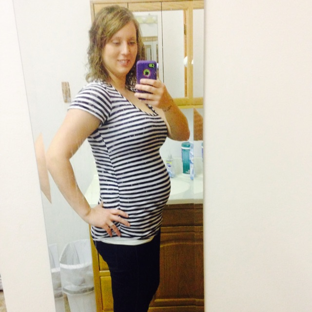 20 weeks and no weight gain. yahoo!