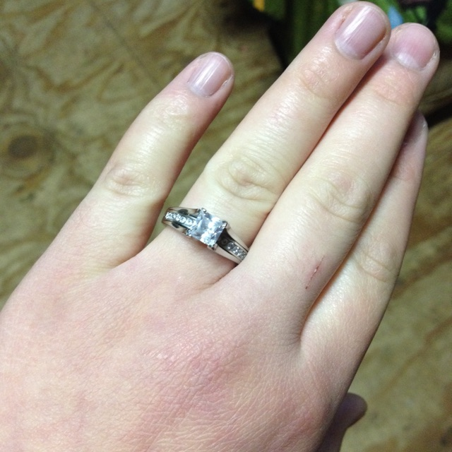 Im So Happy He Proposed To Me I Am The Luckiest Woman Alive Its