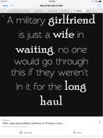 Military Girlfriends