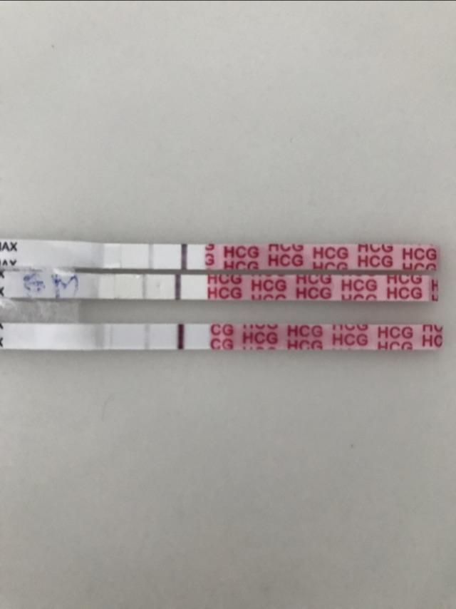 All Faint Positive pregnancy test for a week - Glow Community