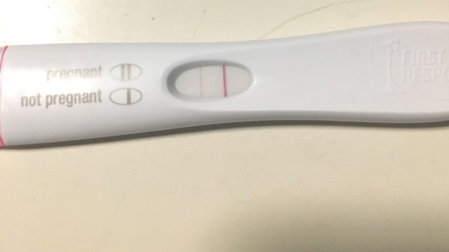 pregnancy test faint line pictures