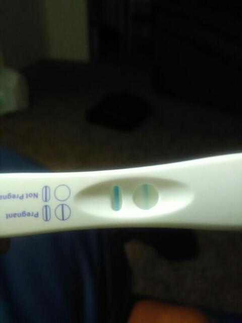 This my first bfp  6dp 5dt from fet  Praise Jesus  Praise