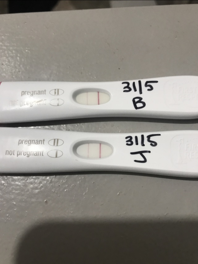 BFP after bleeding and spotting for 7 days - Glow Community