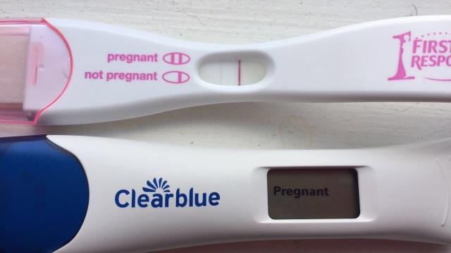 Unclear Pregnancy Test Glow Community