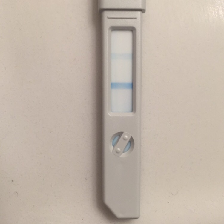 5 dpo and OPK if still this dark  Also having a mixture of