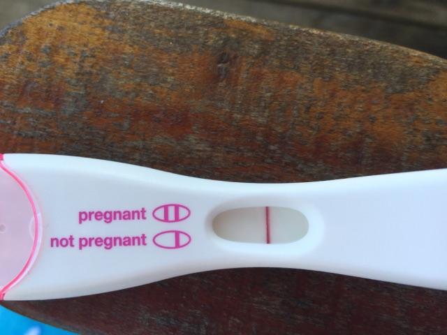 Faint positive pregnancy test  FTM - Glow Community