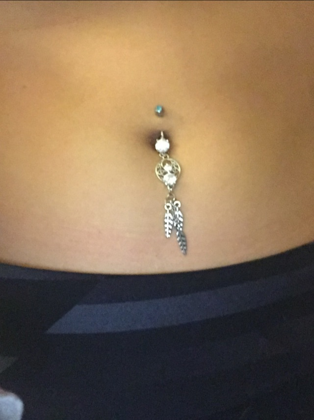 So I Just Had Gotten My Belly Button Re Pierced A Few Days Ago Been