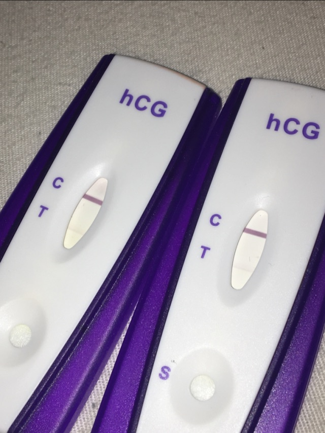Hcg Pregnancy Test Positive And Negative Pregnancy Test Work