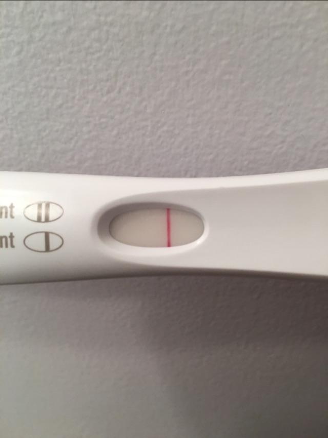 Clear As Day Negative Pregnancy Test Glow Community
