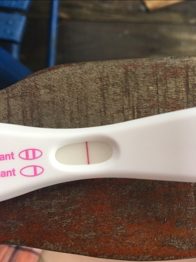 Faint positive pregnancy test  FTM - Glow Community