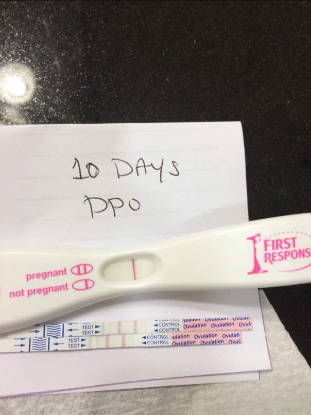 10 Dpo Negative Hpt And Positive Ovulation Test Glow Community
