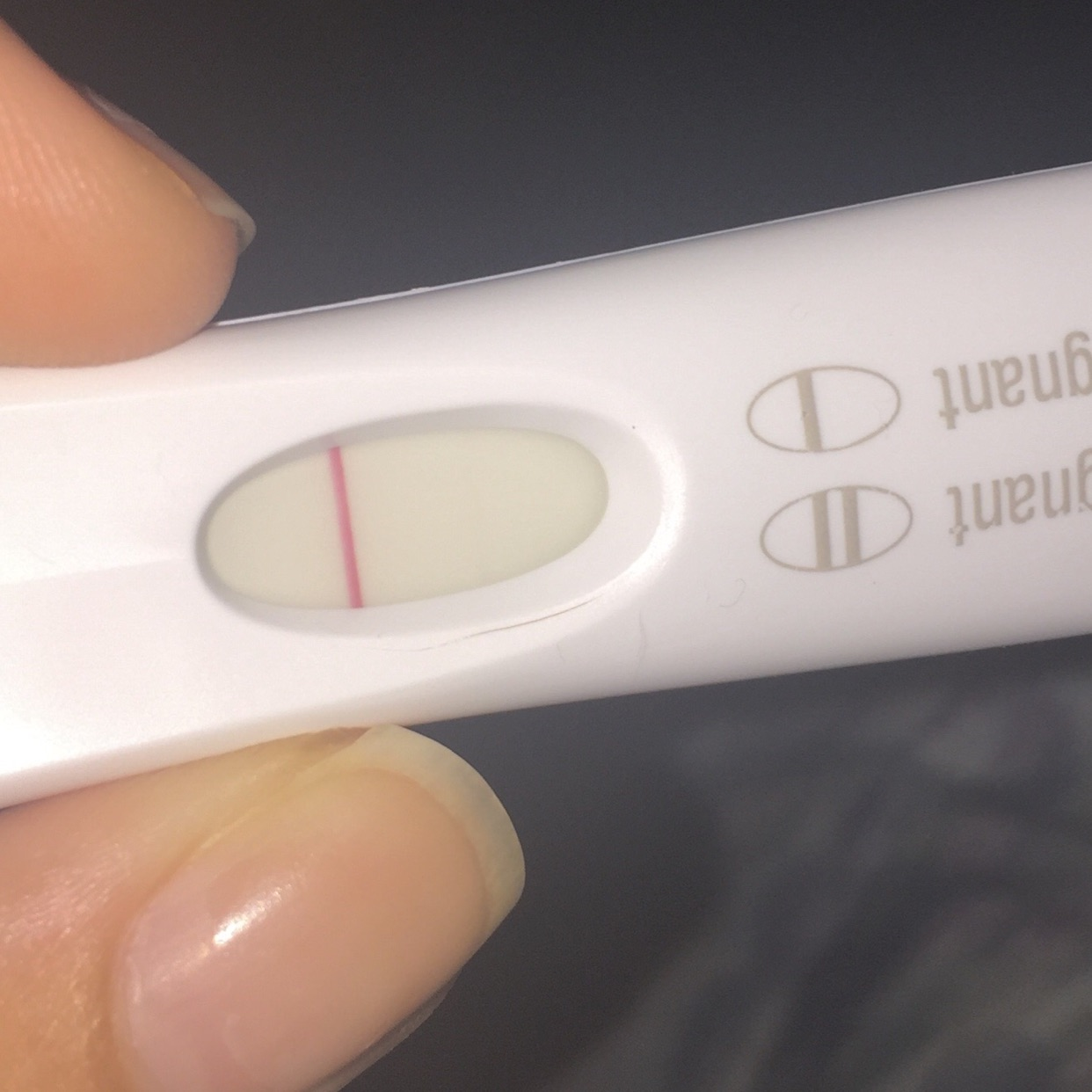 First Response Early Result Pregnancy Test Faint Line