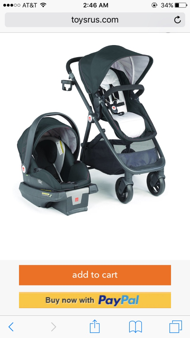 Any mommas out have or have tried the GB LYFE Travel System stroller ...