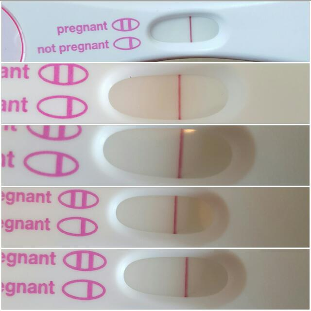 4 Different Tests One Taken With One Hour Urine Hold Indent Evap