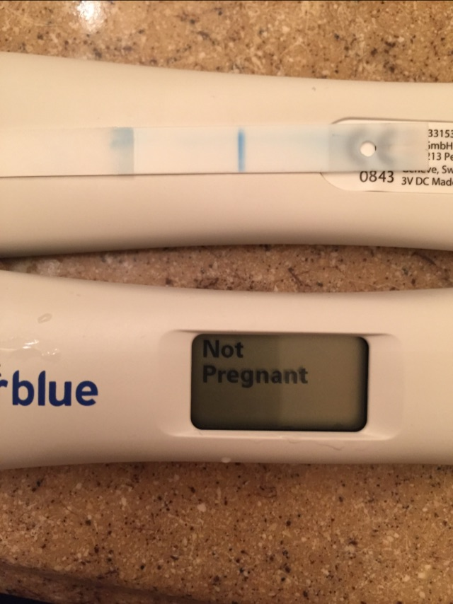clear blue pregnancy test instructions not digital