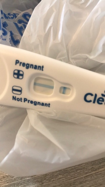 Diagonal Line On Clear Blue Pregnancy Test - Pregnancy Test Work