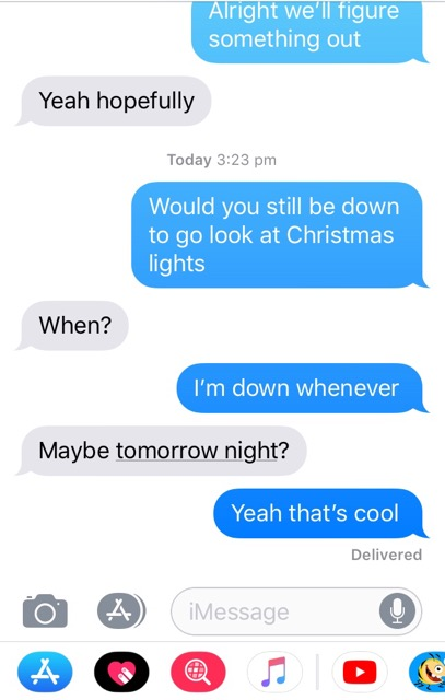 how to ask a guy if hes still interested
